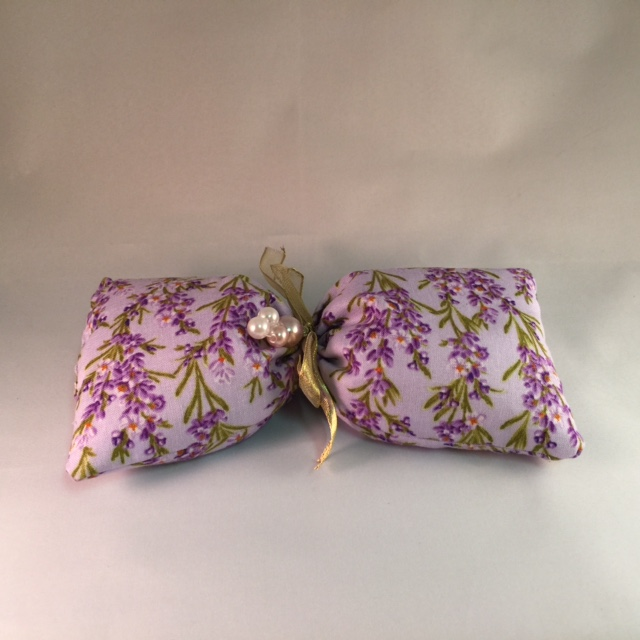 Eye Pillow with Organic Lavender Flowers